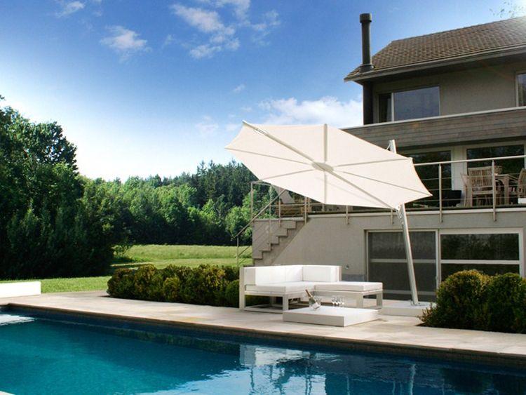 Parasol design de terrasse et de jardin – 20 modèles haut de ...