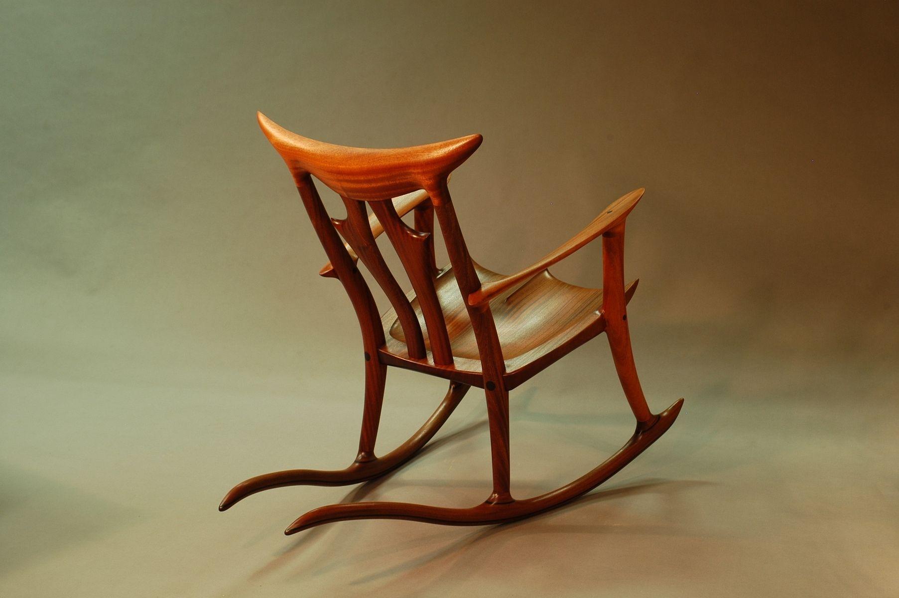 Sapele Rocking Chair Rocking Chair Chair Rocket Chair