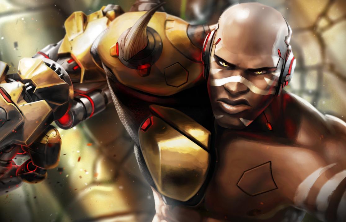 Doomfist By Https Diphos Deviantart Com On Deviantart Overwatch Fan Art Overwatch Doomfist Overwatch