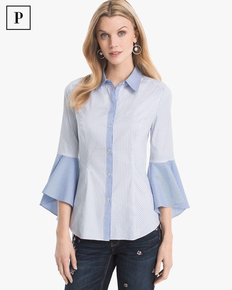 3705296ebad Women s Petite Sophia Stripe Shirt by White House Black Market