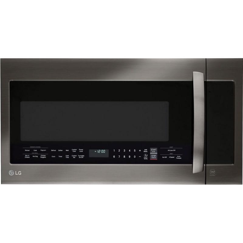 Lg Lmvm2033 Microwave Black Stainless Steel Otr Microwave