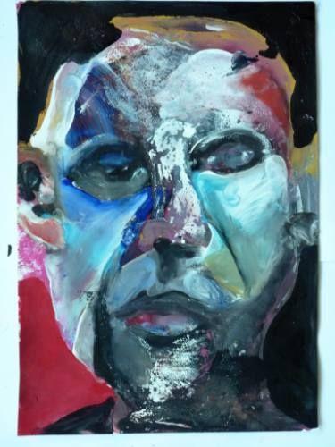 "Saatchi Art Artist Olivier Stephane; Painting, ""Portrait"" #art"