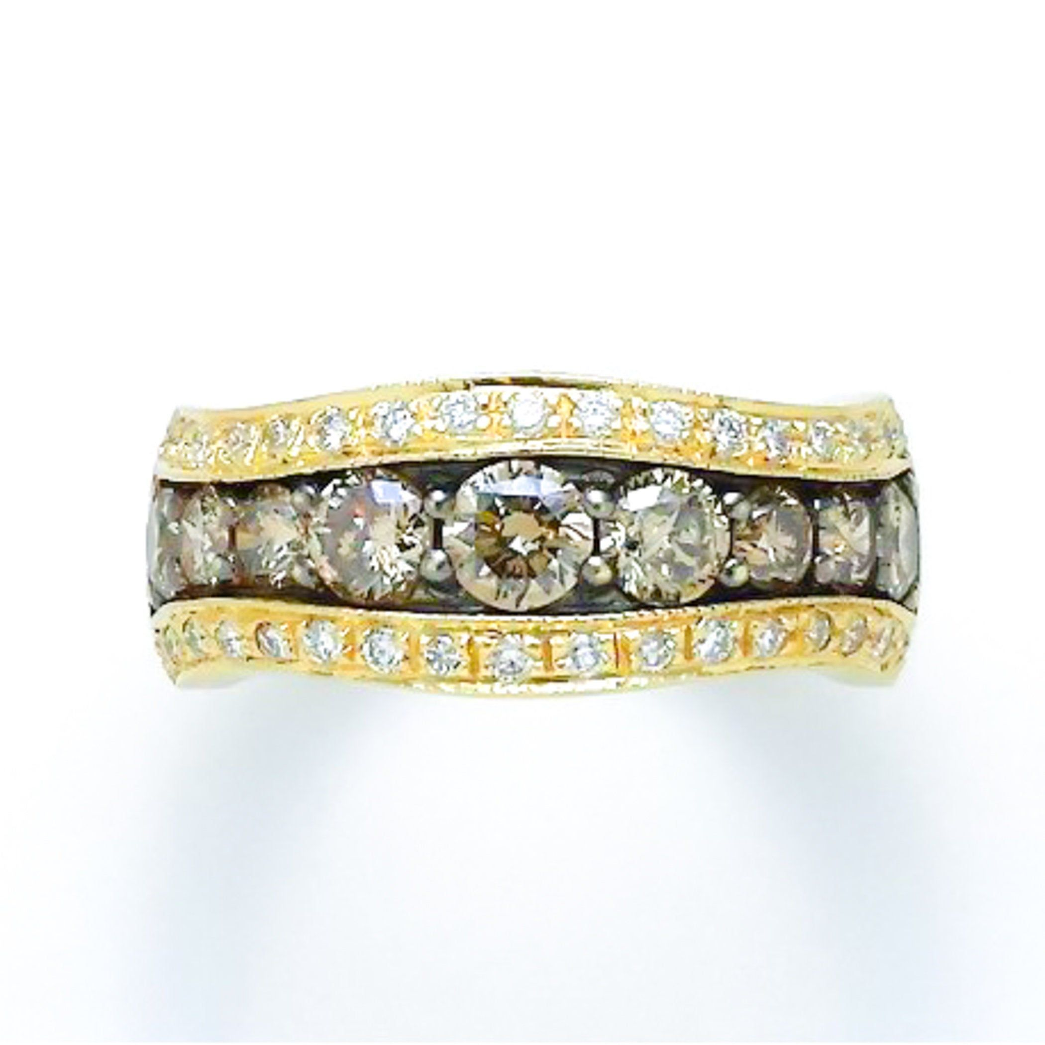 LeVian Chocolate Diamond Ring Estate Piece Levian
