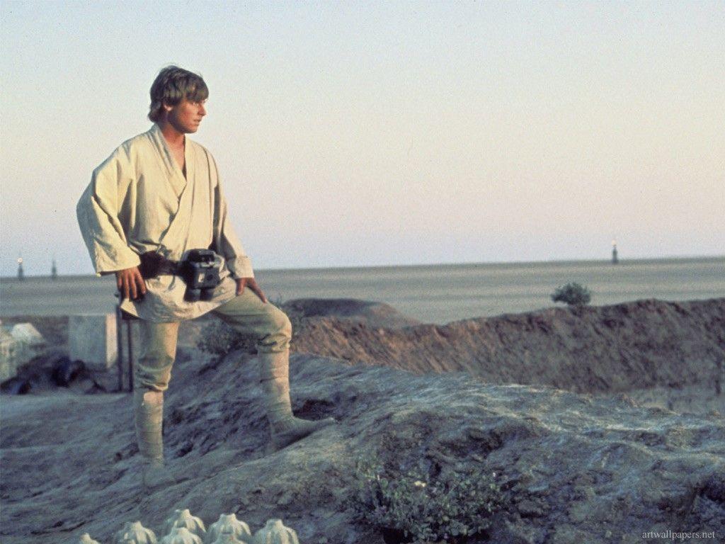 Resultado de imagen de luke skywalker tatooine