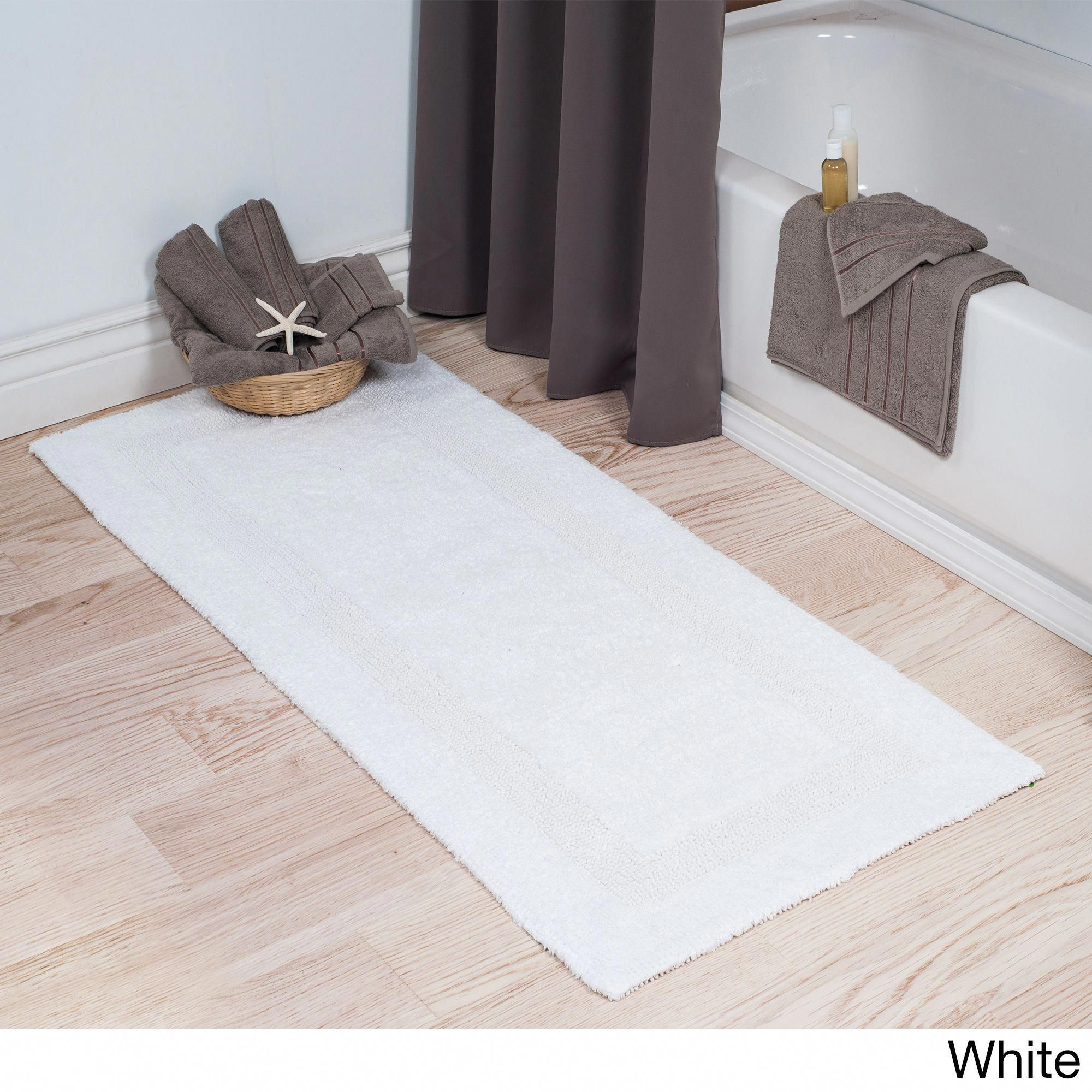 Overstock Com Online Shopping Bedding Furniture Electronics Jewelry Clothing More Long Bath Rugs White Bathroom Rug Cotton Bath Rug [ 2000 x 2000 Pixel ]
