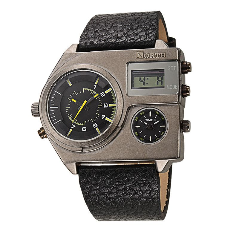 LIGE Mens Watches Top Brand Luxury Business Leather Watch