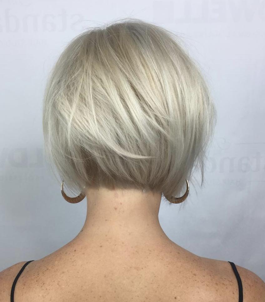 Soft Undercut Bob Short Hair With Layers Short Hair Styles Easy Short Hair Styles