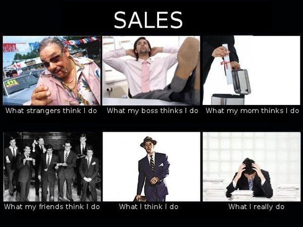 Salesman Sales Meme Job Memes People