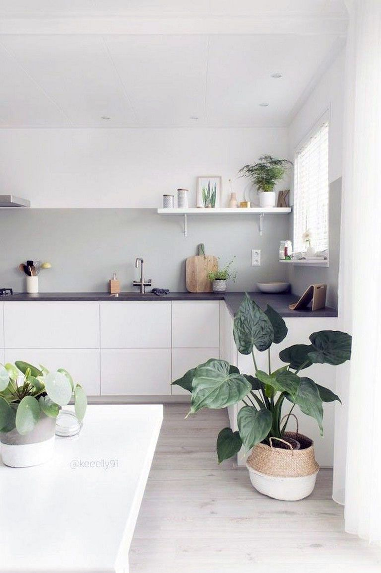49 Clean Minimalist Scandinavian Kitchen Design Ideas In 2020 Kitchen Decor Apartment Small Apartment Kitchen Decor Small Apartment Kitchen