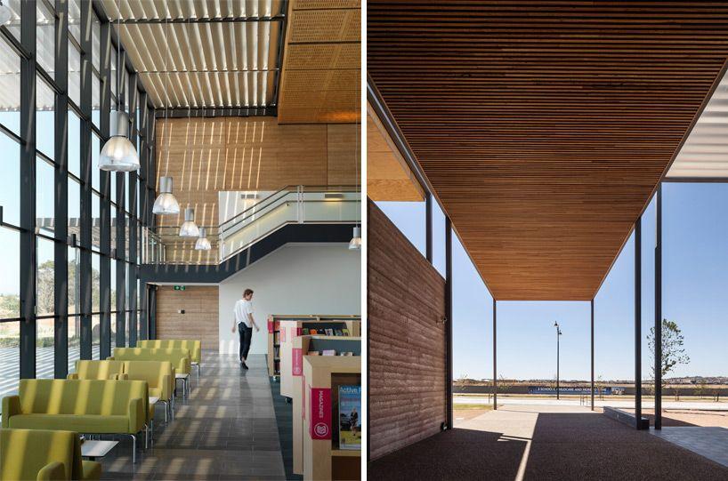 Fjmt Surrounds Craigieburn Library With Shading Louvers In Australia Architecture Library Design Craigieburn