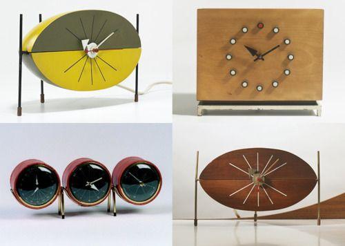 George Nelson Clocks