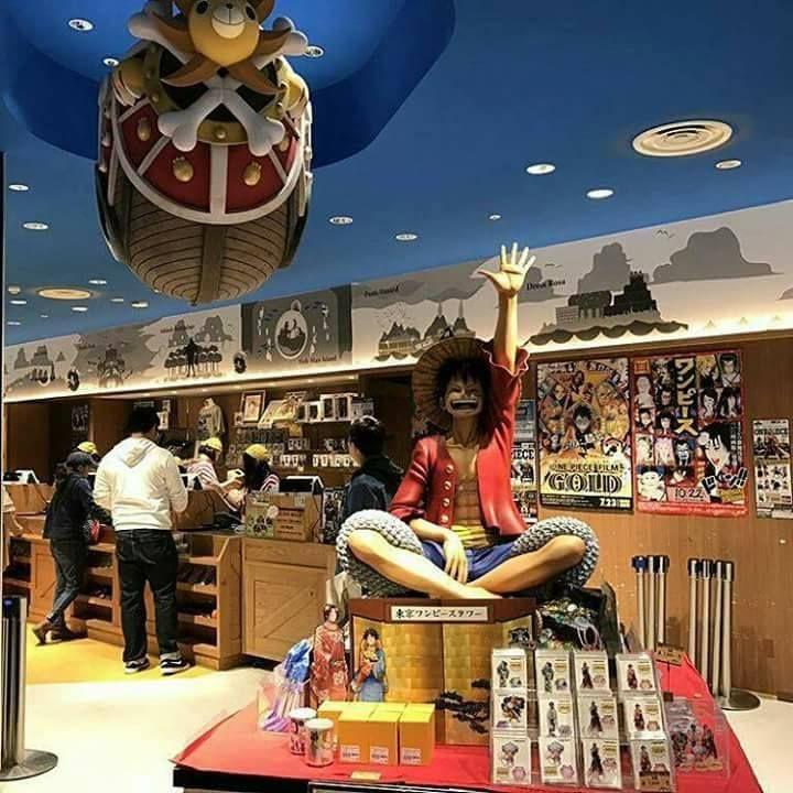 Meanwhile Tokyo One Piece Tower #onepiece #onepiecefan #otaku #mugiwara #luffy   Tokyo one piece ...