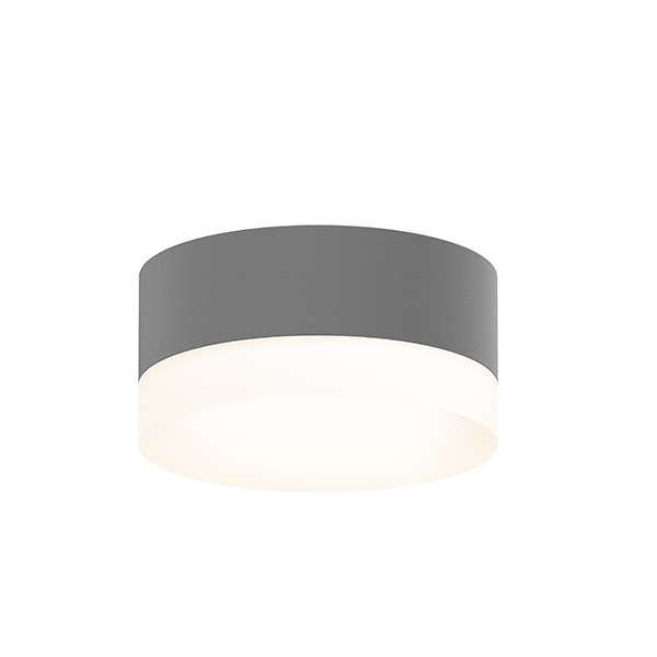 280 Textured Gray Modern Outdoor Ceiling Light Outdoor Ceiling Lights Sonneman