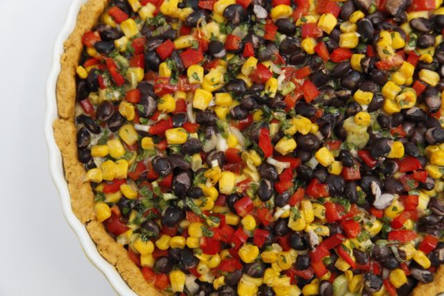 Baked Bean and Corn Pie with Chili Crust. http://www.ontariotable.com/bring-on-the-cold-im-roasting-inside/