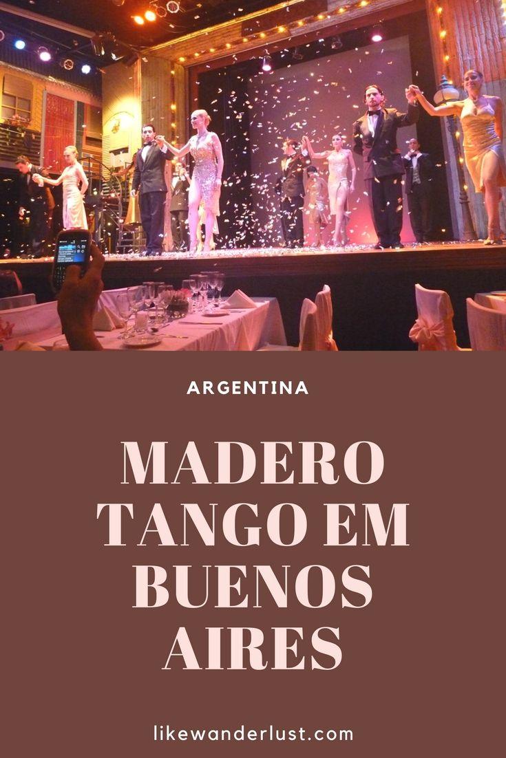 Argentina Buenos Aires Tango O Turista