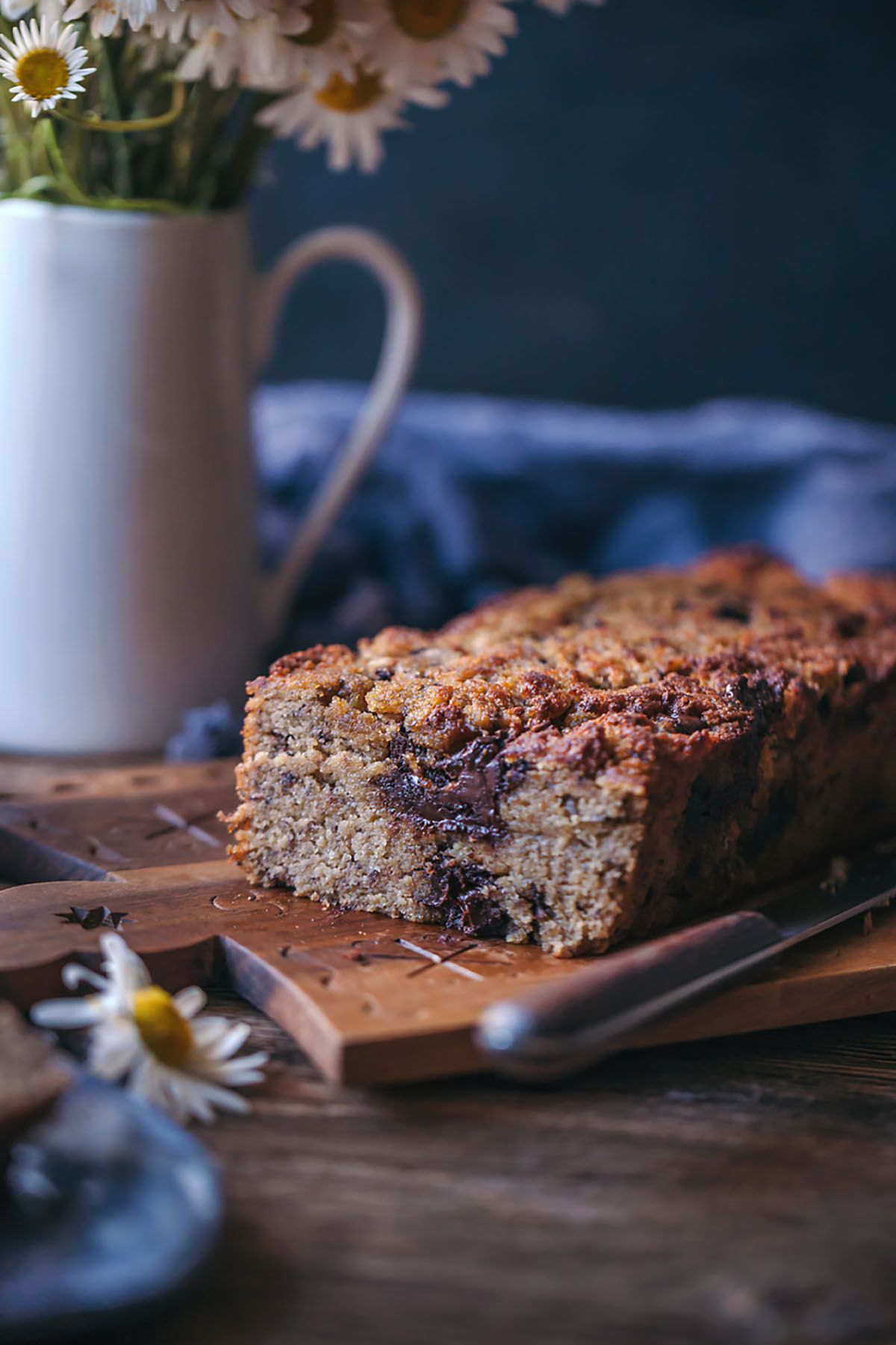 Glutenfree banana bread with coconut and almond flour