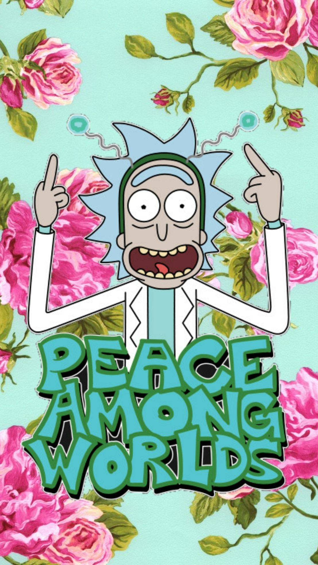 Peace Among Worlds Rick And Morty Wallpaper Album On Imgur In The