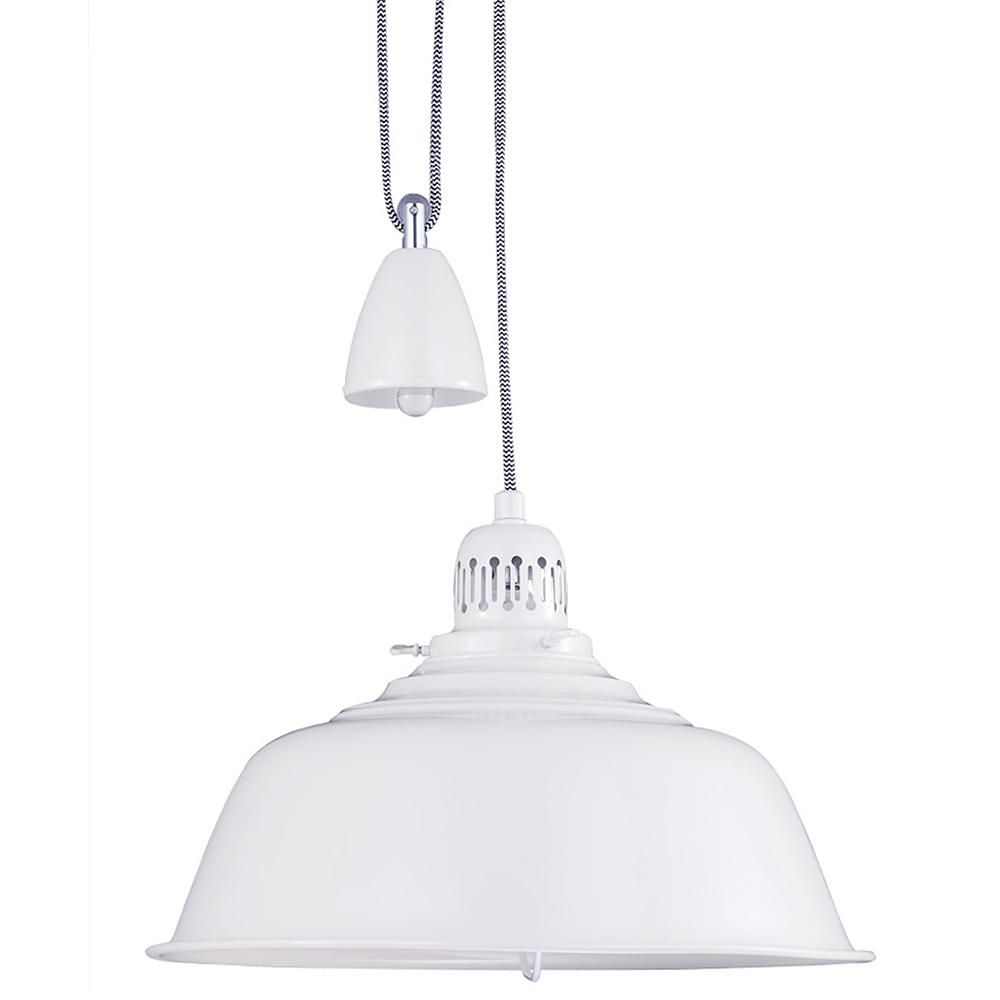 Fisherman pendant ceiling light rise and fall cream home ceiling lights aloadofball Gallery
