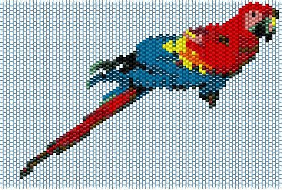 I created this peyote stitch pattern. The pattern itself is a PDF ...