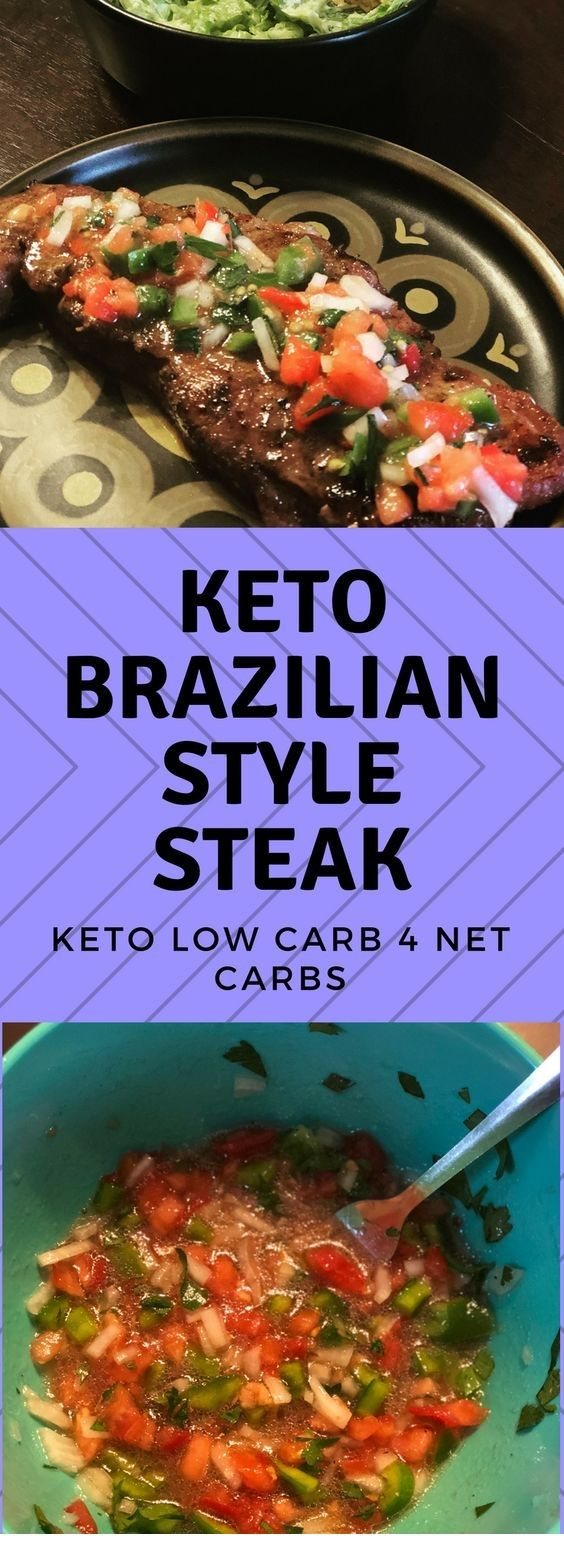 Keto Brazilian Strip Steak (4 net carbs)  #grilledsteakmarinades