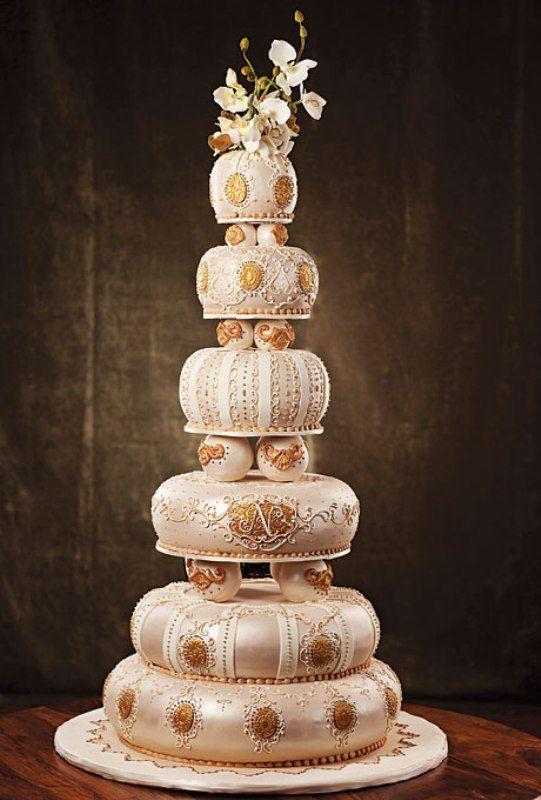 Most Elegant Wedding Cakes | 30 Most Creative Wedding Cake Designs ...