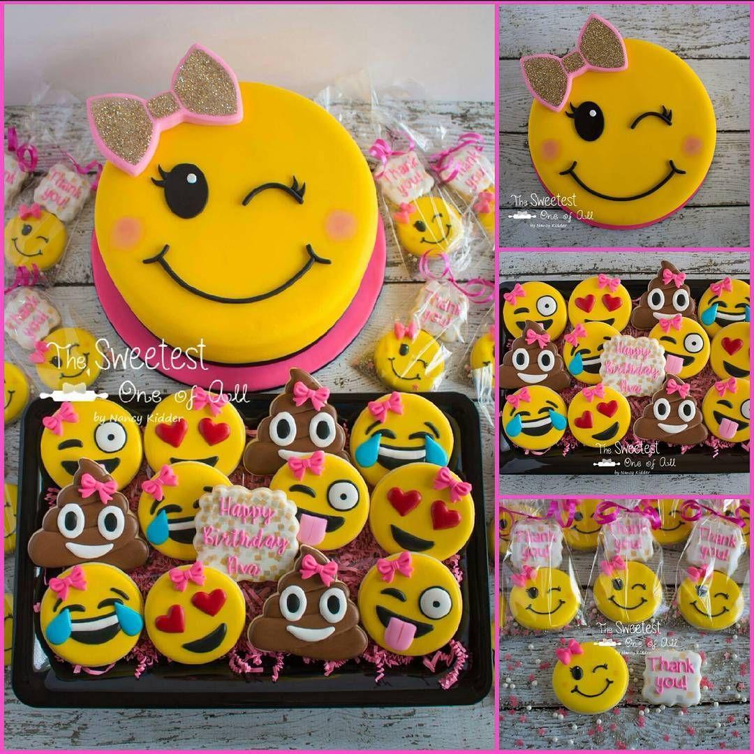 Tween Girly Girl Emoji Happy Belated Birthday To