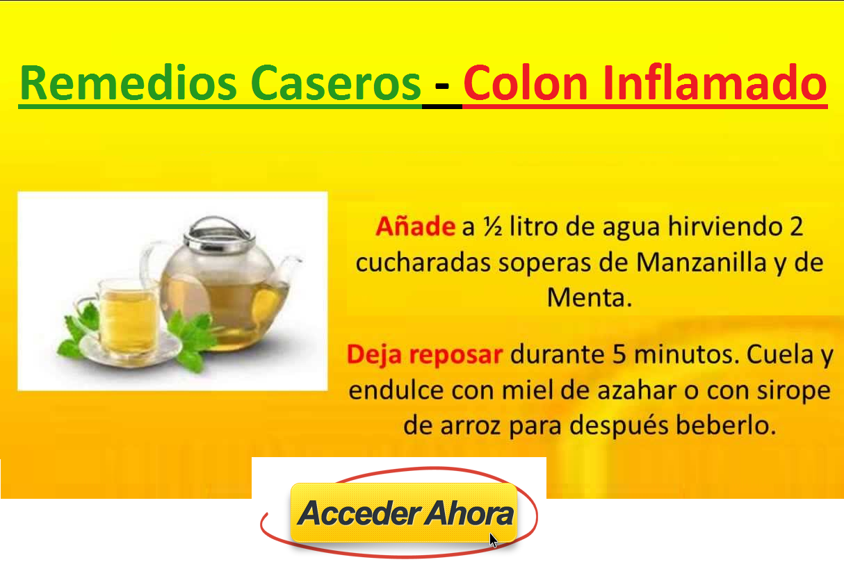 Pin En Colon Irritable Tratamiento Natural Remedio Casero
