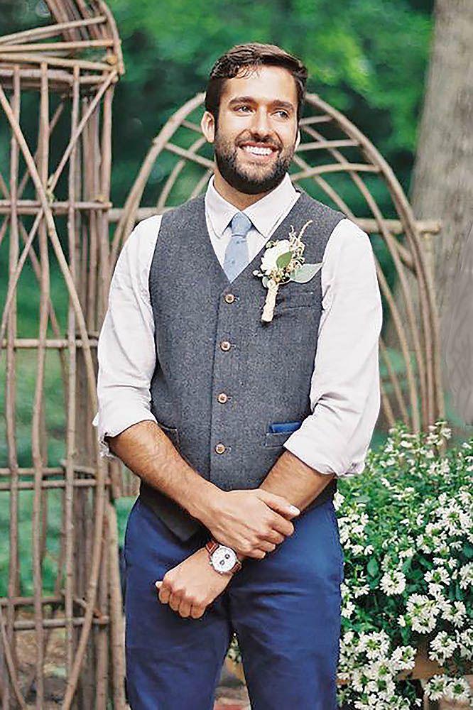 27 Rustic Groom Attire For Country Weddings | Wedding | Pinterest ...