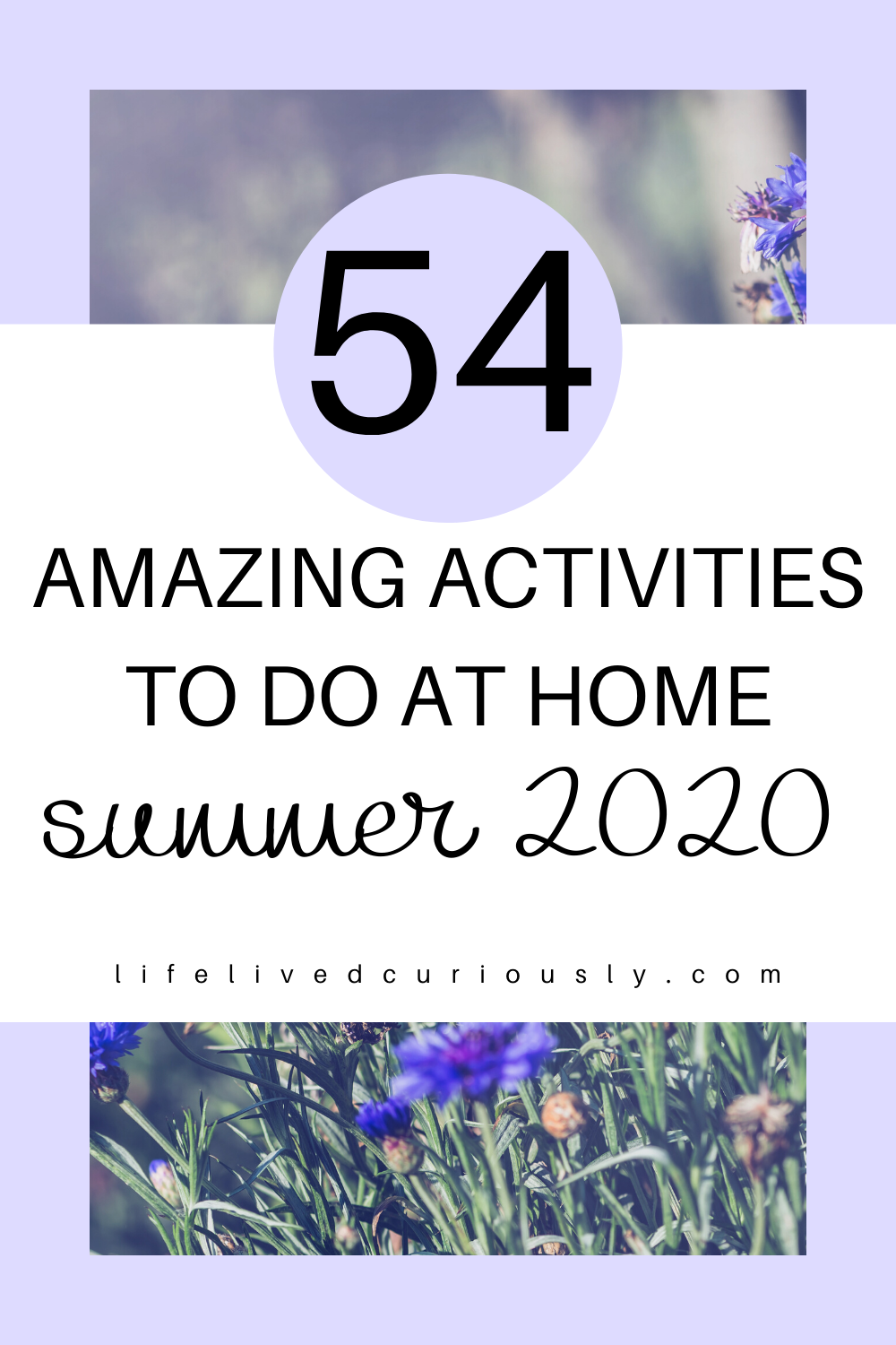 54 Fun Things To Do At Home This Summer in 2020 Things
