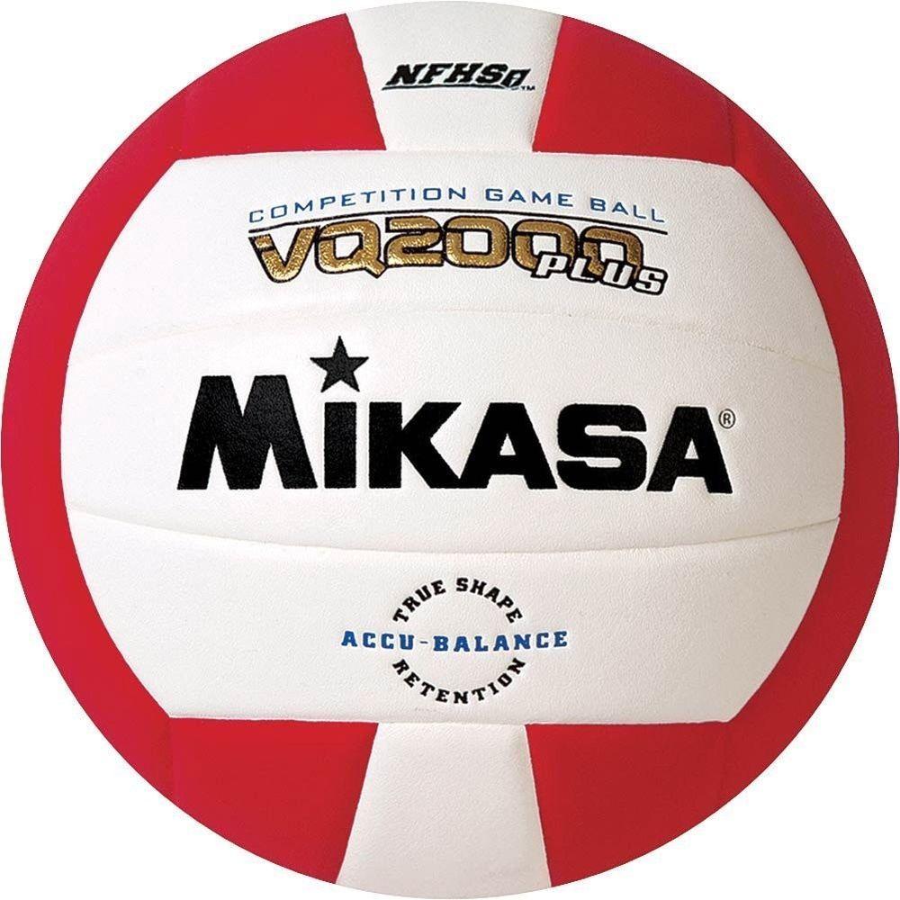 Ebay Sponsored Scarlet White Mikasa Vq2000 Micro Cell Indoor Volleyball Scarlet White Indoor Volleyball Mikasa Volleyballs