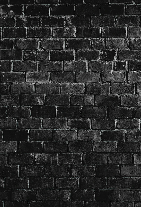 Black Textured Brick Wall Photography Backdrop D 239 Black Brick Wall Black Brick Wallpaper Photography Wall