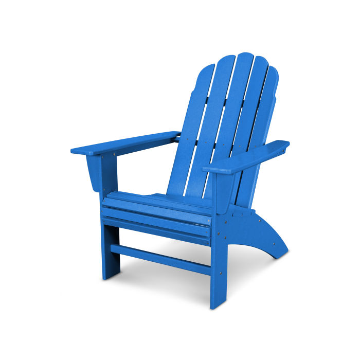 Vineyard Curveback Adirondack Chair Recycled plastic