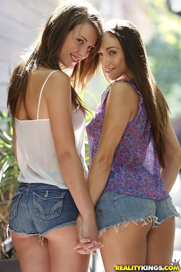 Sweet Denim Beauties Malena And Celeste Heather  Malena -8404