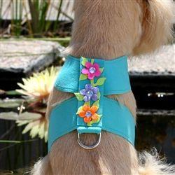 Secret Garden Collection Tinkie Harness-Bimini Blue#dogdiy#dogdiyprojects#ilovemydogs#aplacetolovedogs
