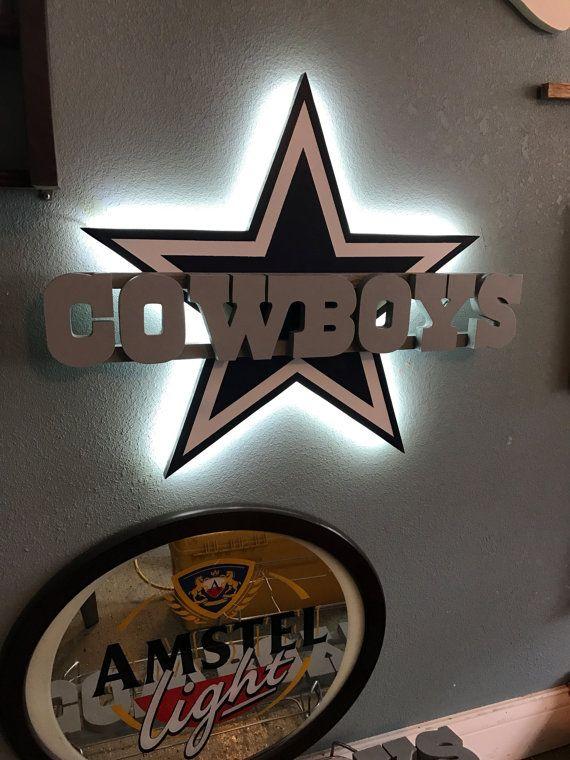 Dallas Cowboys Led Wall Decor