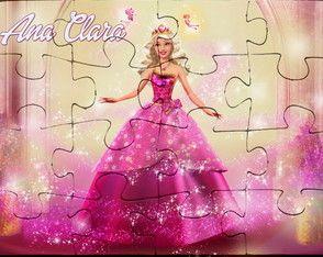Quebra Cabeca Personalizado Barbie Quebra Cabeca Personalizado Quebra Cabeca Personalizado