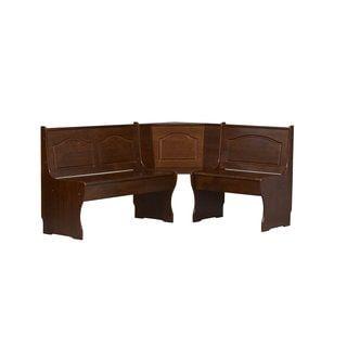 Linon Riki Corner Unit Dark Brown - Free Shipping Today - Overstock.com - 16458237