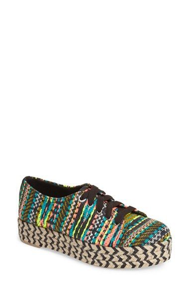 Circus by Sam Edelman 'Brandon' Espadrille Platform Sneaker (Women) available at #Nordstrom