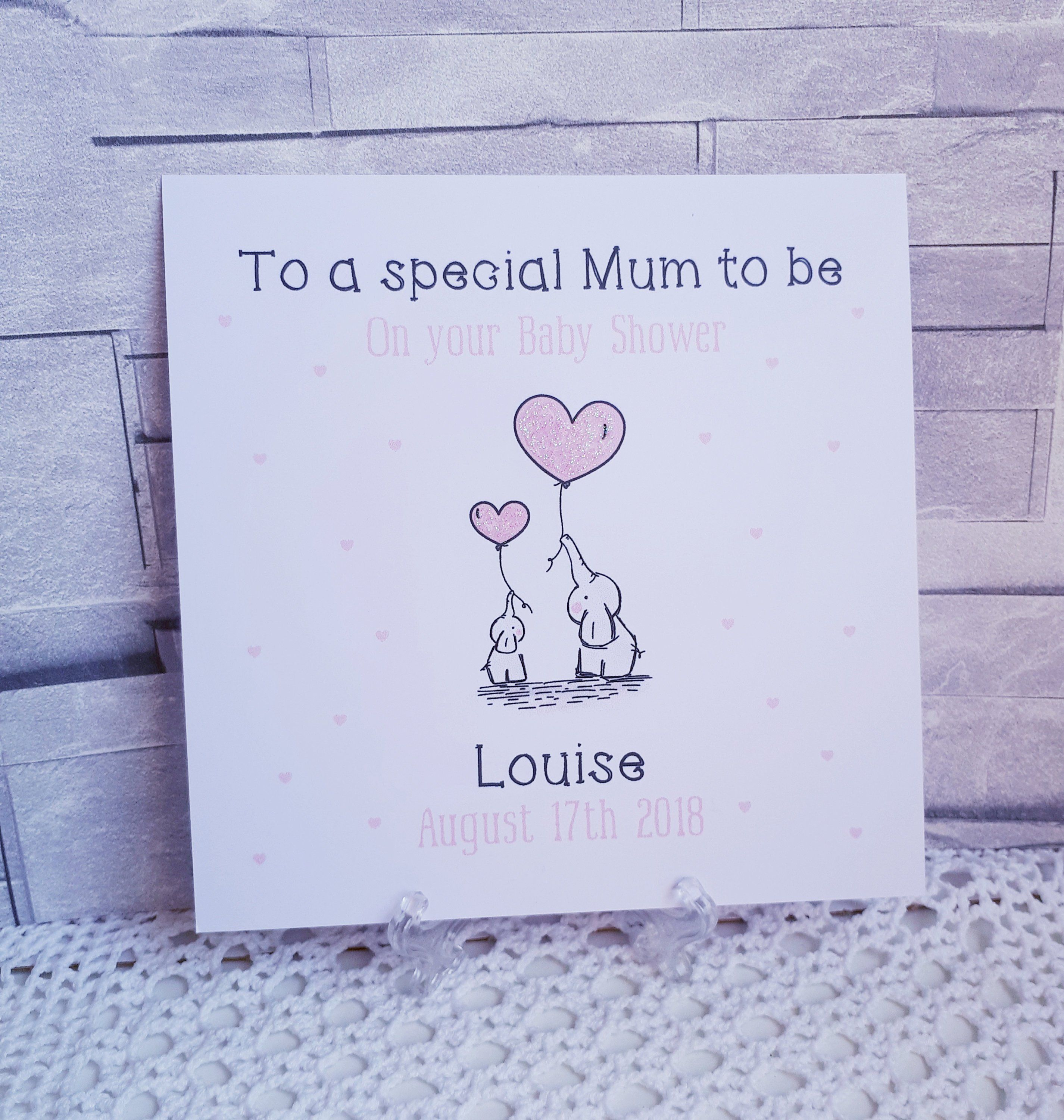 Personalised Engagement Card Son Daughter Special Friend Niece Nephew Sister