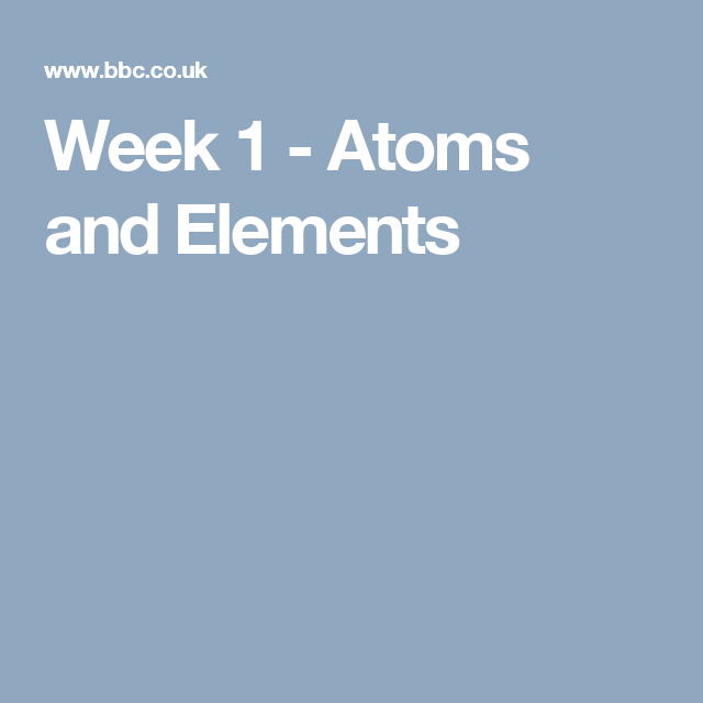 Week 1 atoms and elements science g pinterest periodic table a key stage 3 revision and recap activity for science covering atoms elements the periodic table and the properties of metals and non metals urtaz Gallery