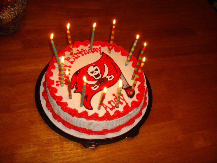 Tampa Bay Buccaneers birthday cake | bucs | Birthday Cake, Tampa Bay ...