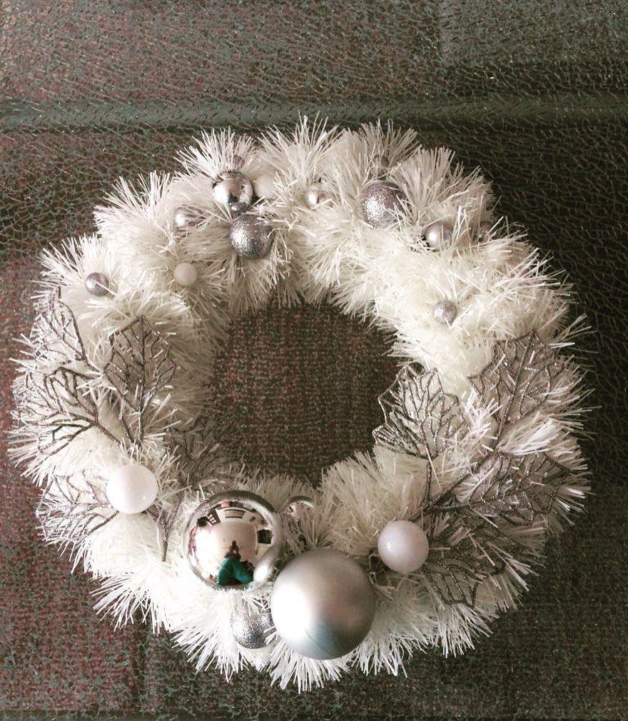 Adventskranz Weihnachten Dekoration Kerzen Kranz Weihnachtsdekoration Dekorationsideen Handgemacht Schonerwohnen Mitlie Christmas Wreaths Decor Holiday