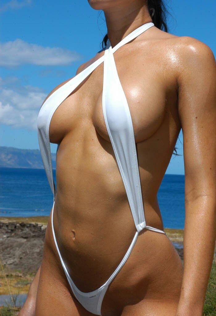 Latina captain bikini