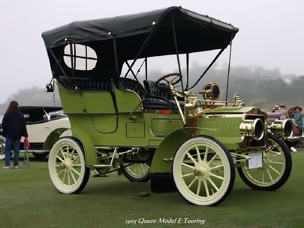 Old Cars - 1905 Queen Model E Touring | Insurance Information ...