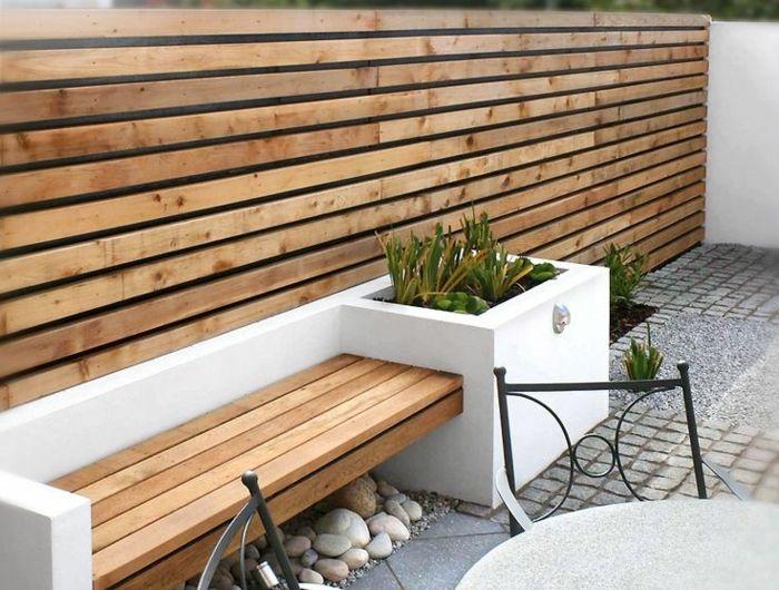 Voici nos exemples pour un banc de jardin. | Patios