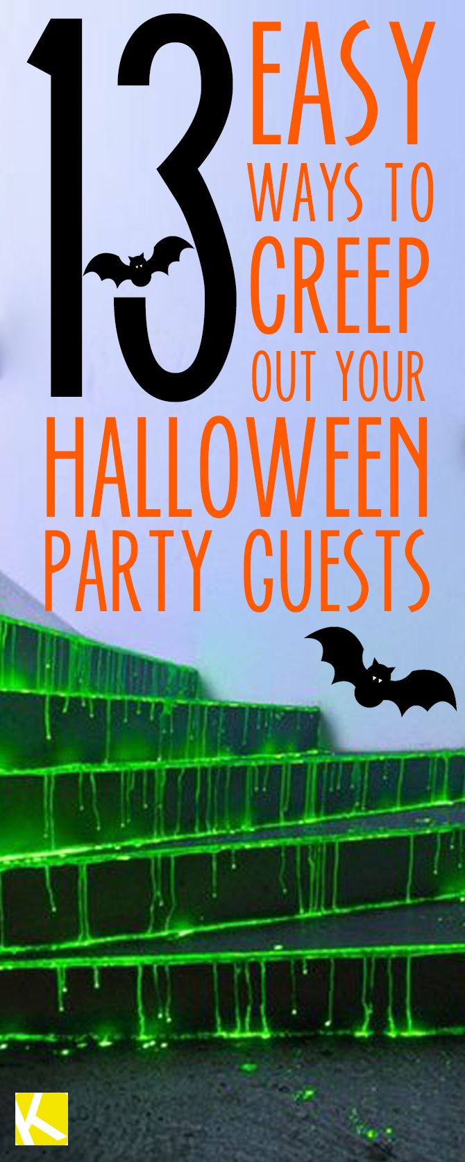 13 creepy ways to decorate your home for halloween pinterest for Ways to decorate your house for halloween