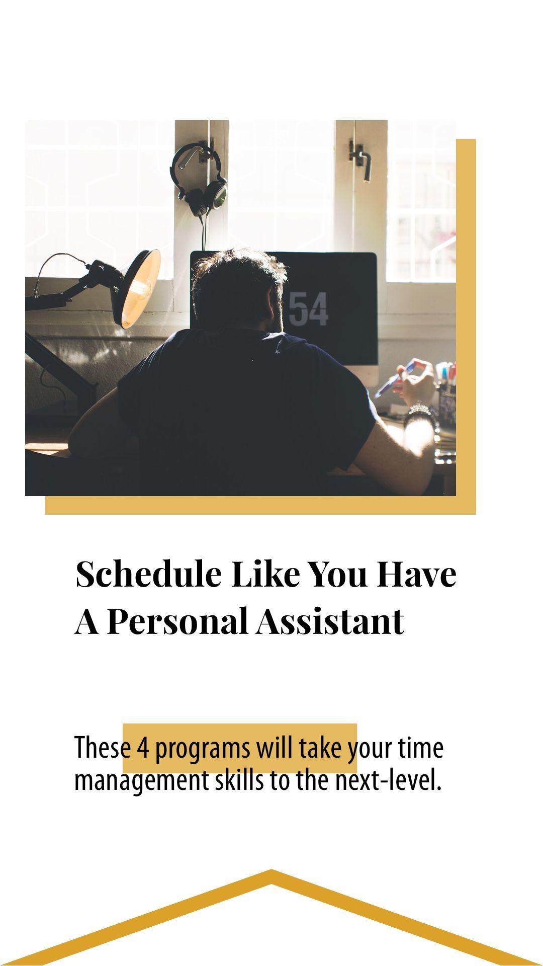 Schedule Like You Have A Personal Assistant, For Under