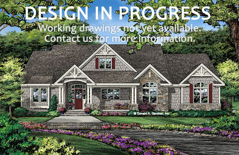 House Plan The Fletcher By Donald A Gardner Architects House Plan W Pin 1430 Craftsman Style House Plans Ranch Style House Plans New House Plans