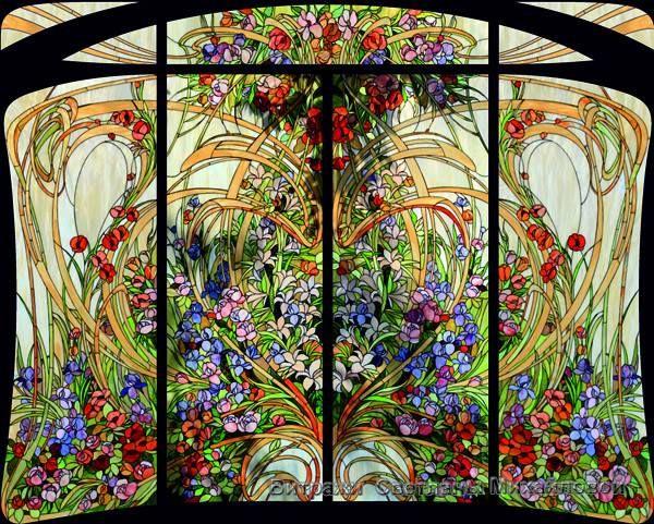 art nouveau vitrail kiss my glass pinterest glass. Black Bedroom Furniture Sets. Home Design Ideas