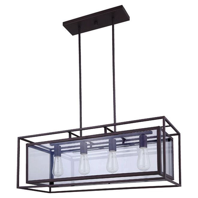 Isola 4 Light Pendant 219 99 Possible Dining Room
